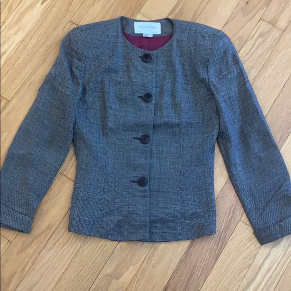 Christian DIOR the suit Iconic Bar Blazer Jacket